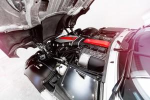 Mercedes SLR engine