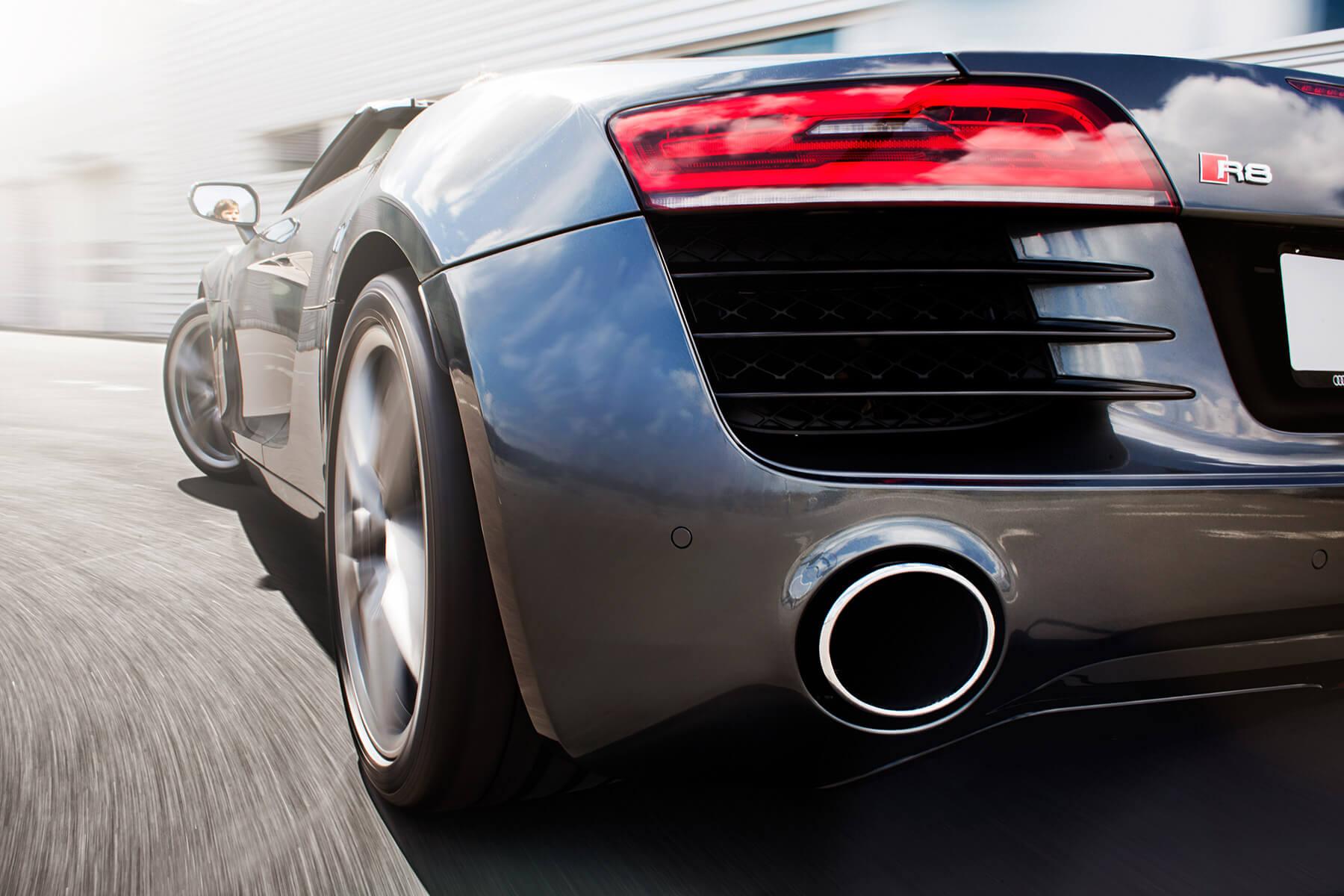 Audi R8 V10 Spyder rear 02