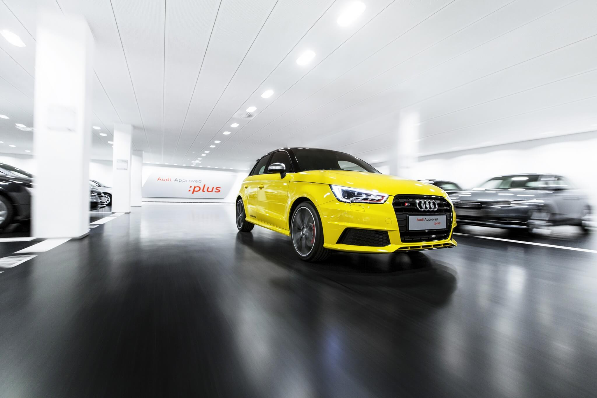 Audi Fredericia car park in Denmark - Audi Approved: plus