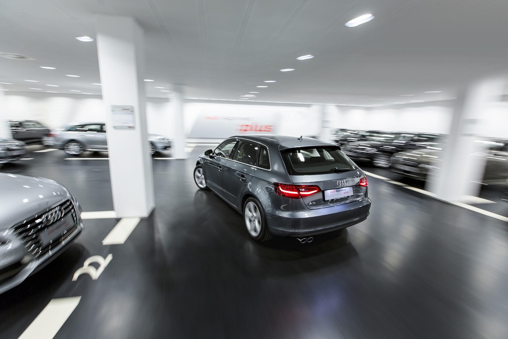 Audi Fredericia car park in Denmark