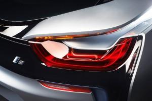 BMW i8 rear lights