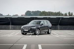 Dark grey Volvo XC90 2016 - photo01